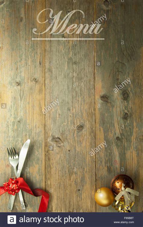 christmas menu background stock photo alamy