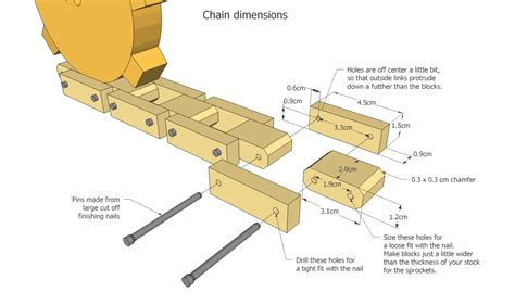 wooden vehicle track plans