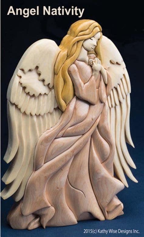 angel nativity intarsia pattern  intarsia