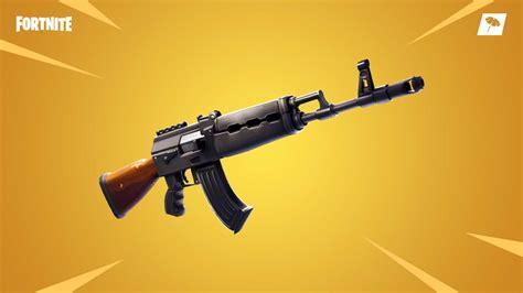 fortnite battle royale update  brings  weapon