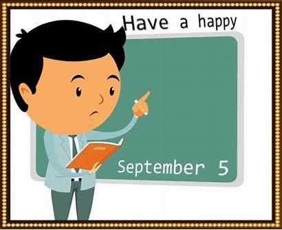 Teachers Teacher Happy Nice Ecard India Diwas