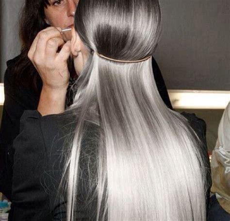 Sassy Silver Hair On Saturday Killerstrands Hair Clinic