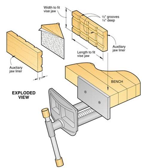 wood vise plans  woodworking