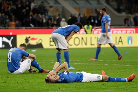 Italy Fails Qualify For The World Cup Nation