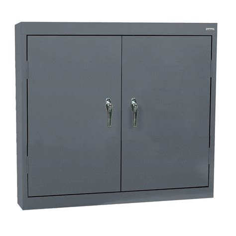 metal storage cabinets home depot sandusky 30 in h x 36 in w x 12 in d steel wall storage