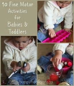 Infants and Toddler Fine Motor Activities