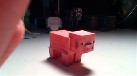minecraft papercraft pig requested  club youtube