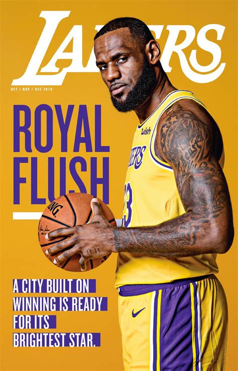 lakers magazine los angeles lakers