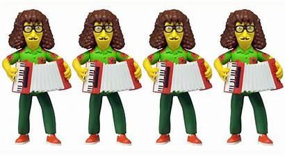 Simpsons Weird Al Action Yankovic Figure