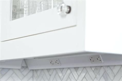 Under Cabinet Angled Plug Mold Angled Power Strip Kitchen