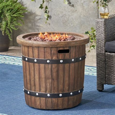 Mark concrete can design, manufacture & ship concrete indoor or outdoor fire pits around california & the us. Muriel Outdoor 25-inch Light-Weight Concrete Round Fire Pit 40K BTU, D - GDF Studio