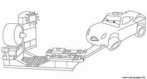 Lego Junior Cars 3 Cruz Ramirez Coloring Pages Printable