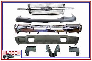 New 03 04 05 06 07 Chevy Silverado 1500 Chrome Grille