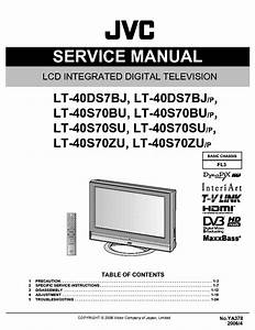 Jvc Fl3 Chassis Lt40ds7bj Lcd Tv Service Manual Download