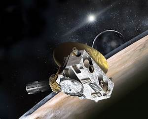 Image of the New Horizons Pluto Kuiper Belt Flyby spacecraft