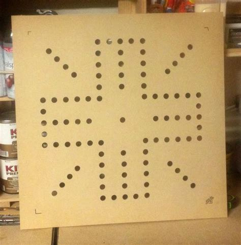 router template    wahoo board  mdf wood