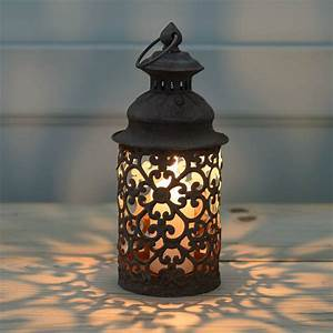 Marrakesh, Floral, Rusty, Candle, Lantern, By, The, Flower, Studio