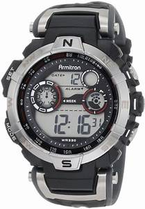 Armitron 408231rdgy Chronograph Digital Sport  U2013 Smartwatch