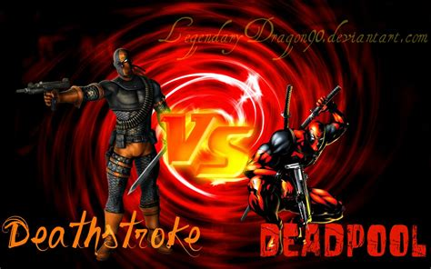 Deathstroke Vs Deadpool By Legendarydragon90 On Deviantart