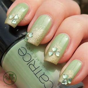 Nail Art Ideas for St. Patrick's Day – Glam Radar