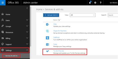 Office 365 Portal Software by Office 365 To Do List Slashadmin In It