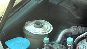 Honda Civic  How To Refill Power Steering Oil Fluid