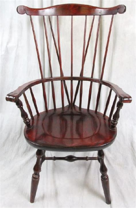 l269 nichols stone brace back fan back windsor chair