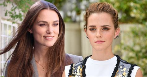 Keira Knightley Emma Watson Help Fund New Rape