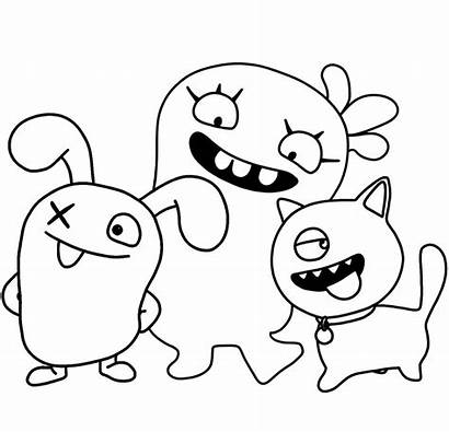 Coloring Uglydolls Ugly Dolls Sand Ox Uglydog