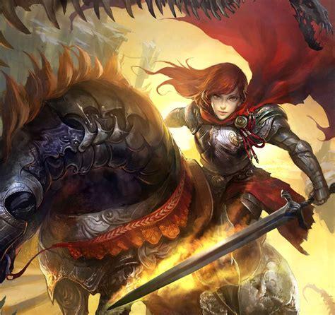 warrior legend of the cryptids artwork fantasy art armor ...