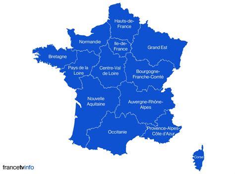Nouvelle Carte De Par Region by Nouvelle Aquitaine Occitanie Hauts De
