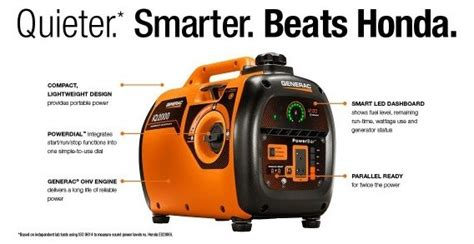 Inverter Generators Vs Conventional Generator