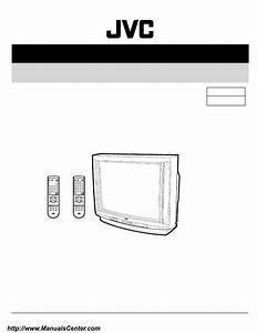 Schematic Diagram Manual Jvc Av 36d202 Av 36d302 Color Tv