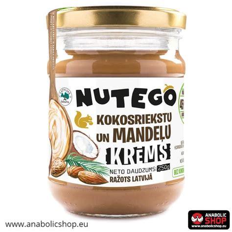 Mandeļu krēms ar kokosriekstiem 250 grami   AnabolicShop.EU