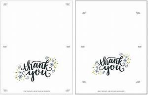 Size Of A7 Envelope Freebie Printable Thank You Card Printable Thank You