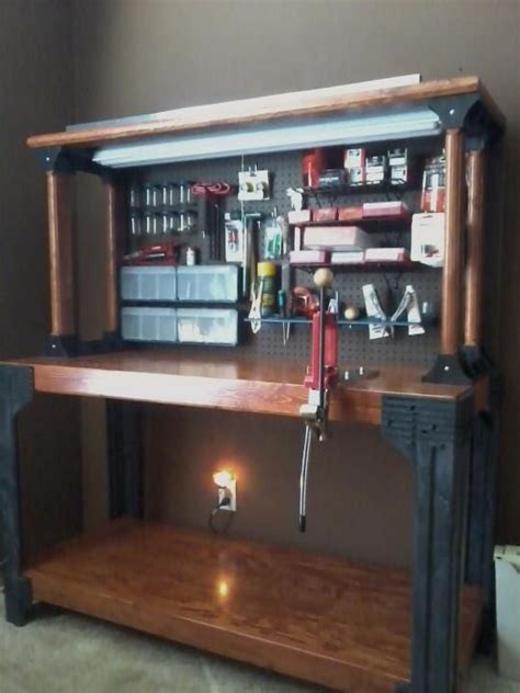 pin  mickey wydick  garage ideas reloading room