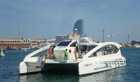 Catamaran Hire Barcelona by Eco Catamaran Visit Barcelona Tickets