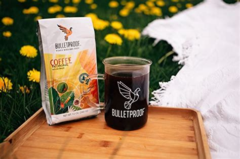 Bulletproof The Original Ground Coffee, Upgraded Coffee English Oak Coffee Table Kraft Bags Uk Wholesale Canada Bean Packaging How To Make Without Valve Organic Yirgacheffe Robert Timms
