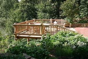 Garten Terrasse Holz Anlegen : gartengestaltung terrasse hang ~ Sanjose-hotels-ca.com Haus und Dekorationen