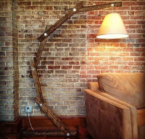 arc light floor l rustic wood arc floor l id lights