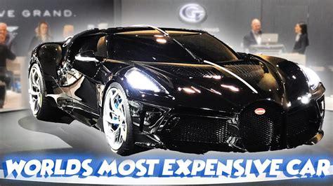 The $16.1 million bugatti la voiture noire by : Meet the 1 of 1 $16 Million Bugatti La Voiture Noire | 2020 CANADIAN INTERNATIONAL AUTOSHOW ...