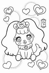 Pages Coloring Precure Princess Colouring Glitter Force Puff Candy Anime Cure Sheets Magical Printable Pretty Cool Adult Eye Kawaii Japan sketch template