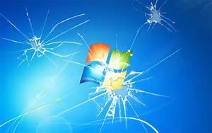 Broken Windows 7 wallpaper 186188