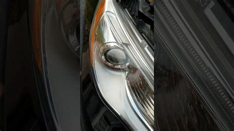 chrysler  passenger side headlight bulb replacing