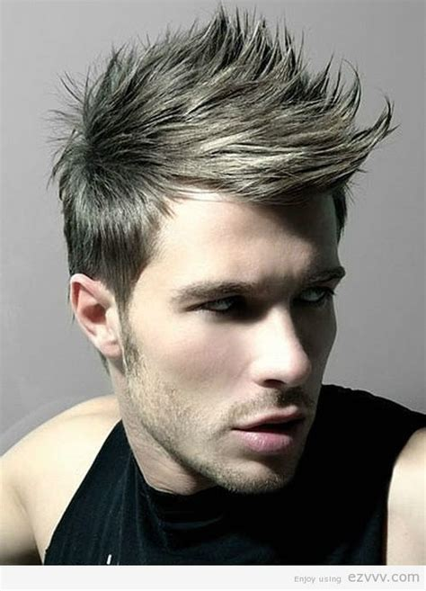 punk hairstyles for men thick hair men hairstyles ideas