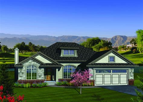 open concept ranch home plan ah architectural designs house plans