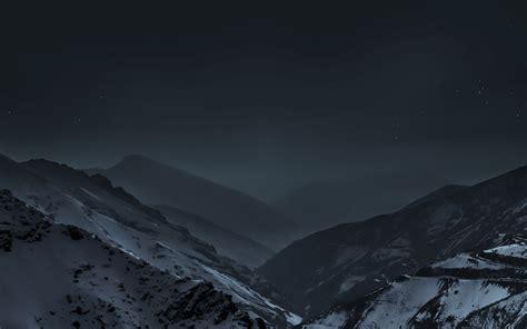 md wallpaper nature earth dark asleep mountain night