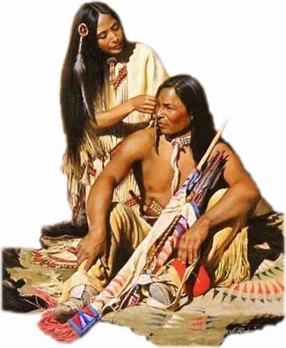 Indiens Amerindiens Indiennes Couple Esprit Amerindiens Tatanka