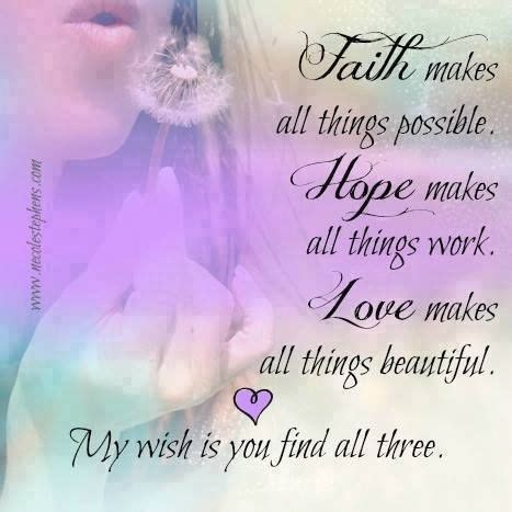 faith hope  love pictures   images