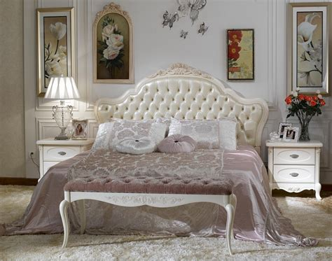 China French Style Bedroom Set Furniture (bjh-225)